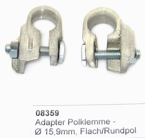 Minuspol-Adapter-Batterie Polklemme Batteriepoladapter Flach /> Rundpol FORD US