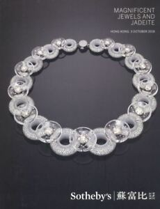 Sotheby's Catalogue Hong Kong Magnificent Jewels and Jadeite 03/10/2018 HB