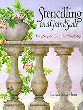 Stencilling on a Grand Scale : Using Simple Stencils to Create Visual Magic...