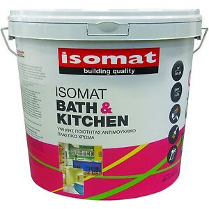 Fantastic Details About Isomat Bath And Kitchen Scrubbable Matt Paint White 3 Litre Anti Mould Bathroom Interior Design Ideas Gresisoteloinfo