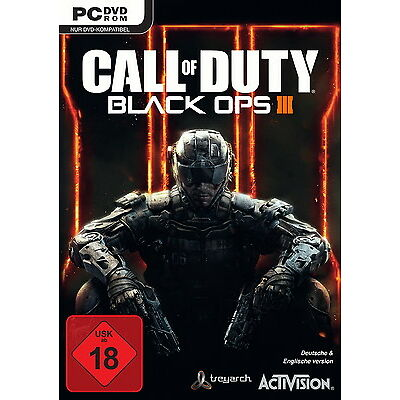 PC Call of Duty Black Ops III Day One Edition inkl. Nuketown FSK ab 18