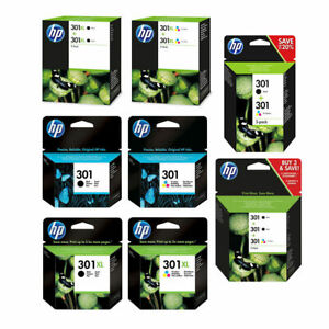 Original-HP-301-301XL-Black-amp-Colour-Ink-Cartridge-For-DeskJet-2050se-Printer