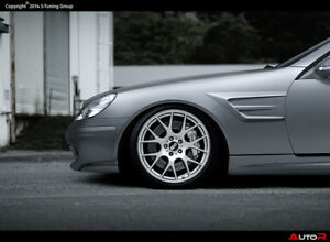 Mercedes-SLK-R170-Satz-Kotfluegel-links-rechts-Fenders-GFK