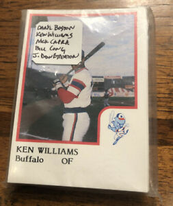 1986-PROCARDS-Buffalo-Bison-Minor-League-Team-Set-White-Sox-AAA