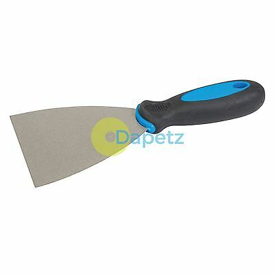 "Ideal for wallpaper paint etc 6/"" Extra Long Scraper 24/"" Soft Grip Handle"