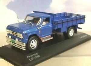 Excellent-whitebox-Miniature-1-43-1960-Chevrolet-C60-C-60-Camion-en-Bleu-WB272
