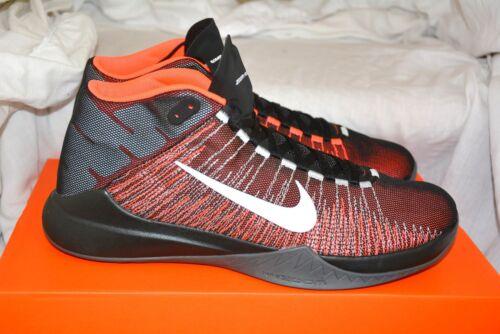 Nike Zoom Ascention caja Nueva 9 Flyfabric negro 5 marca entrenado en Boot Uk carmesí HprURHxq