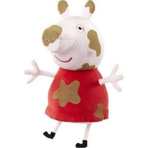 peppa pig giant muddy puddles talking plush soft stuffed doll 35cm defected ebay. Black Bedroom Furniture Sets. Home Design Ideas
