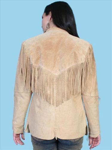 Wear American Fringe Jacket Cowboy Western Leather Native Womens wHqCSSE