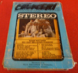 Roger-Whittaker-Mes-Vingt-Meilleures-Chansons-8-Track-Stereo-8-Pistes