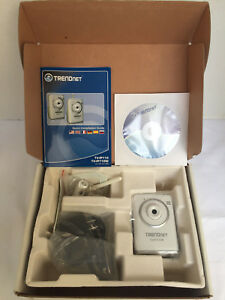 TRENDnet SecurView Internet Surveillance Camera TV-IP110w (White) | eBay