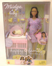 Barbie Pregnant Midge Doll, African American Mattel 2002 Collectable 1st Edition