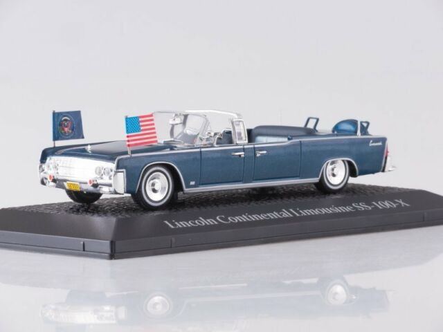 Kennedy 1961 1:43 Greenlight Lincoln Continental SS-100-X John F
