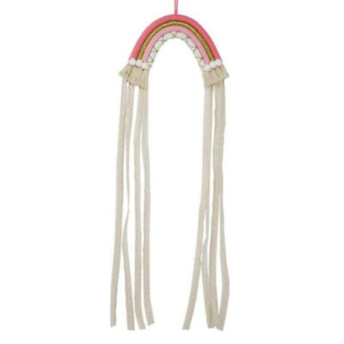 Rainbow Hair Clips Storage Holder Hanging Wall Headwear Organizing Strip Rack n