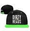 Snapback-Clean-Up-Adjustable-Baseball-cap-The-Dirty-Heads-Hip-Hop-Hat-and-Cap miniature 2