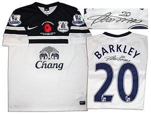 separation shoes 83437 528c0 Details about Ross Barkley Match Worn Everton Football Shirt COA