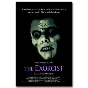 THE EXORCIST Horror Movie Silk Poster 12x18 24x36 inch