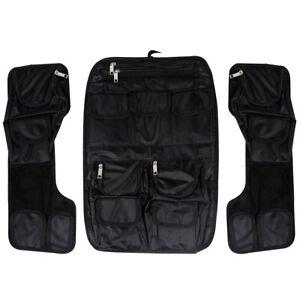 ddc9a2ecdea6 Details about Black Saddle bags Tour Pak Pack Lid Organizer Pouch Fit For  Harley FLH 99-13 12