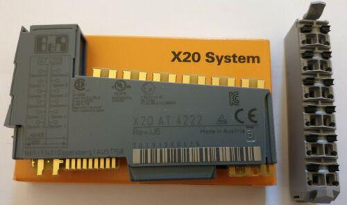 B/&r Automation x20 at4222 modules feldklemme x20tb excellent état