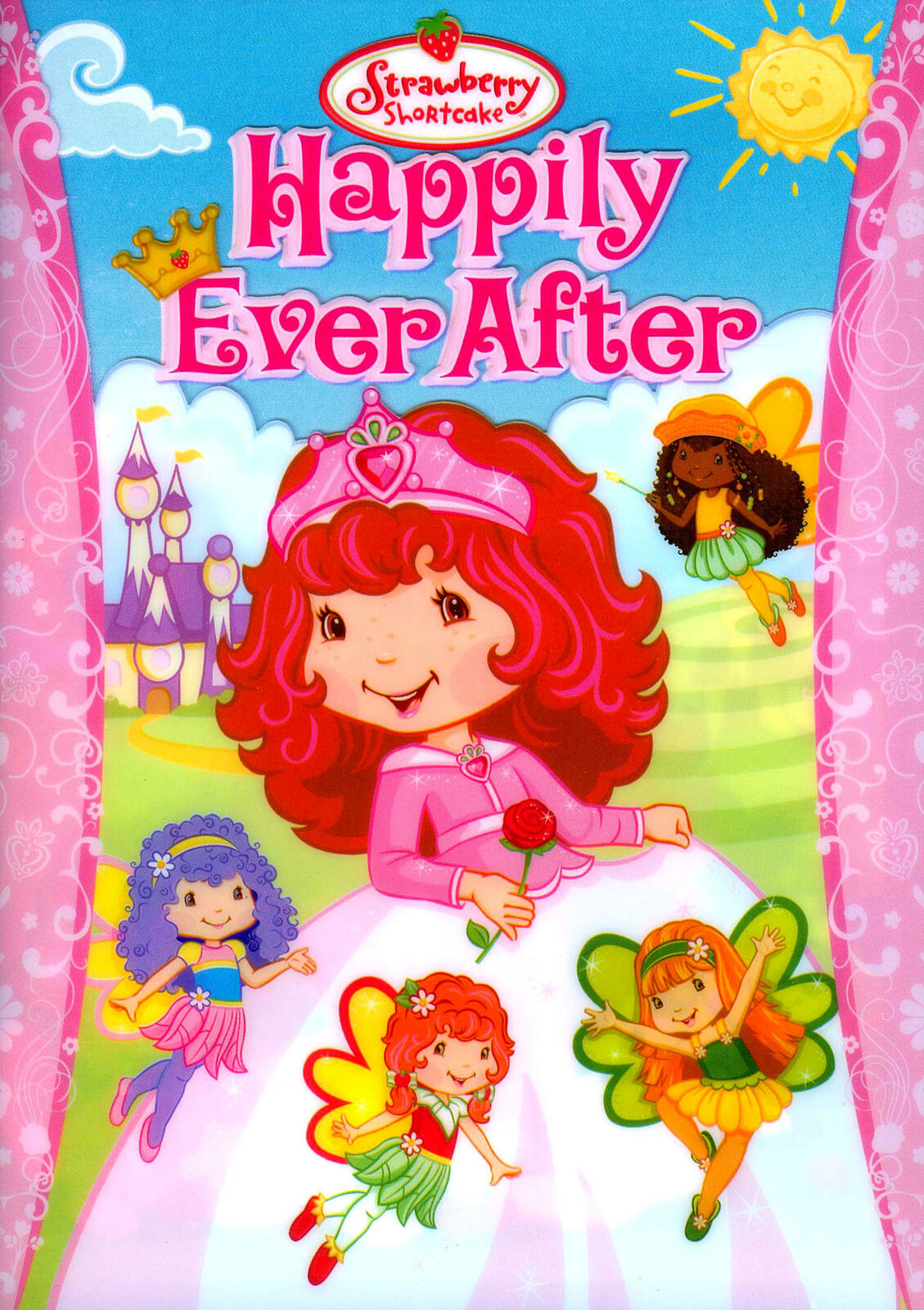 Strawberry Shortcake Happily Ever After Dvd 2009 Checkpoint