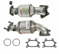 2010-2015 ACURA MDX Front Catalytic Converters 2 PIECES PAIR