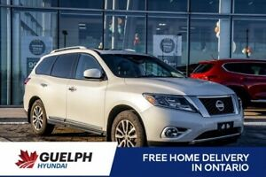 2016 Nissan Pathfinder SL AWD-Navi  Leather  Roof  Fully Equipped!