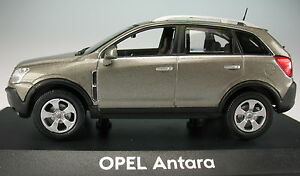 NOREV-OPEL-Antara-grau-metallic-1-43-NEU-in-OVP-Modellauto