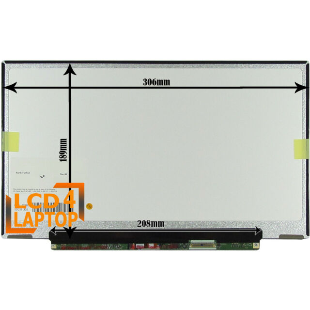 """Replacement LG Philips LP133WH2 TLL4 13.3"""" Laptop LED Screen HD Display"""