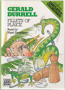 Gerald-Durrell-Fillets-Of-Plaice-6-Cassette-Audio-Book-Unabridged-Corfu-Animals