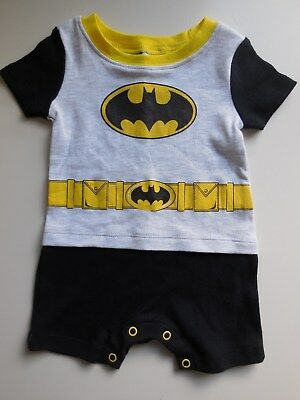 CUTE BABY BOY INFANT HARLEQUIN ROMPER PLAYSUIT OUTFIT CLOTHES SIZE 00 FITS 3-6M