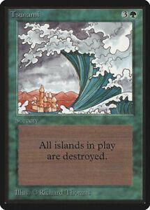 Tsunami - BETA Edition  - Old School - MTG Magic The Gathering