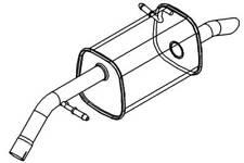 Silencer Box PG811E 5 YEAR WARRANTY Klarius Exhaust Centre Pipe BRAND NEW