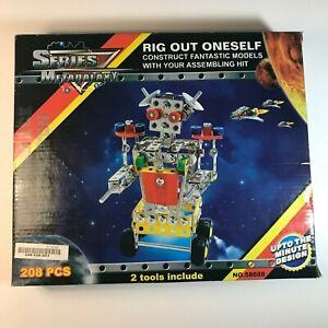 Details about Metagalaxy Series Building Metal Set-Space Robot Colorful DIY  208 pc
