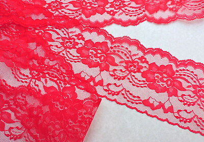 "Wedding Sewing Invitations Runners made in U.S Black Lace 4 /""wide 5yds or more"