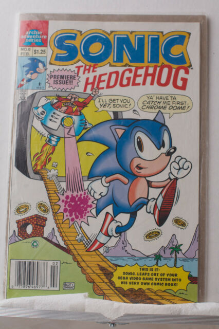 Sonic The Hedgehog 0 Feb 1993 Archie For Sale Online Ebay