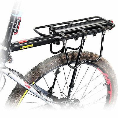 Aluminum MTB Bike Bicycle Rear Rack Seat Post Mount Pannier Luggage Rack Holder
