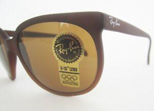 New-Vintage-Ray-Ban-Cats-Sunglasses-Cat-Eye-94-96-B-15-W1203-Bausch-amp-Lomb-B-amp-L