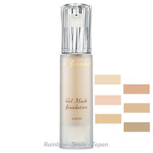 ALBION GEL MASK FOUNDATION 30ml SPF25 PA++ 6 Colors Makeup ...