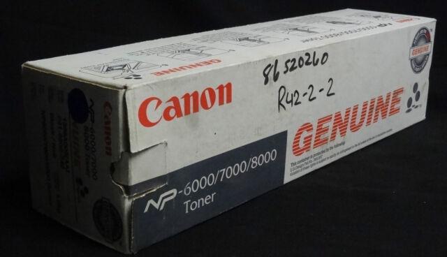 CANON NP6000/7000/8000 BLACK TONER CARTRIDGE - F41-9502-740 - NEW IN BOX
