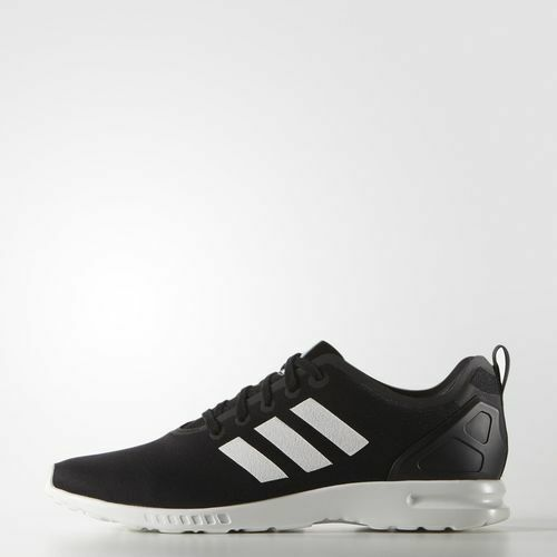 new product c14d0 dd24e S82884 Women's Adidas ZX Flux Smooth Running Shoe!! CORE BLACK/CORE WHITE!!
