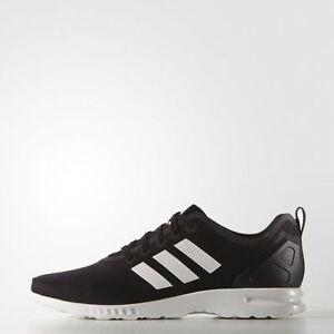 16e400ac0a06c S82884 Women s Adidas ZX Flux Smooth Running Shoe!! CORE BLACK CORE ...