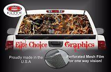 Bow Reaper Camo Buck Blaze Rear Window Graphic Decal Sticker Truck Van Car