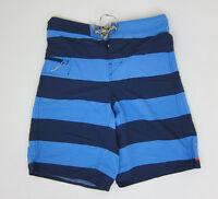 Patagonia Printed Wavefarer Board Shorts - Mens 31 - Blue -