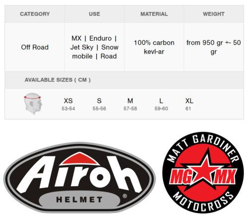 Airoh Twist Eisen Blau Motocross MX Enduro Geländetauglich Fahrradhelm