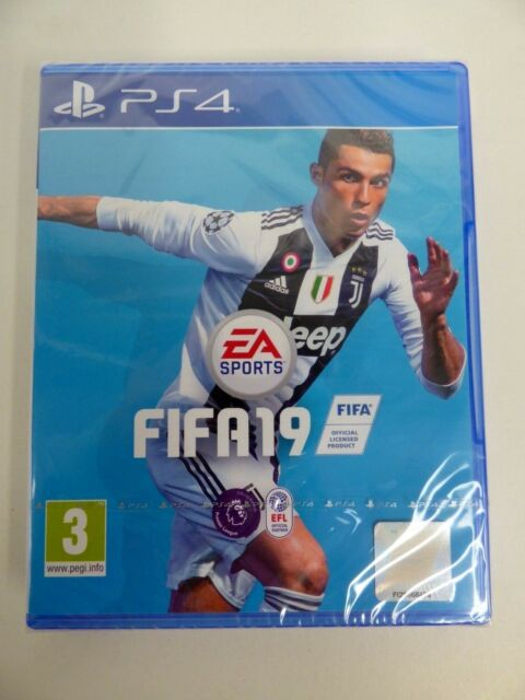 FIFA 19 PS4 Game (BRAND NEW & FACTORY SEALED)/UK Stock/UK Gratuit p&p #A2