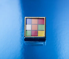 Retro Rubics Cube Tie Pin/Lapel Badge
