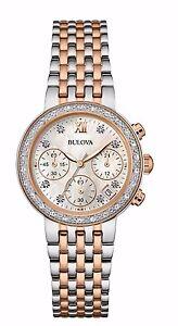 Bulova-Women-039-s-Maiden-Lane-Diamond-Accents-Chronograph-30mm-Watch-98R215