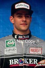 Karl Wendlinger Sauber Mercedes F1 Portrait 1994 Photograph 1