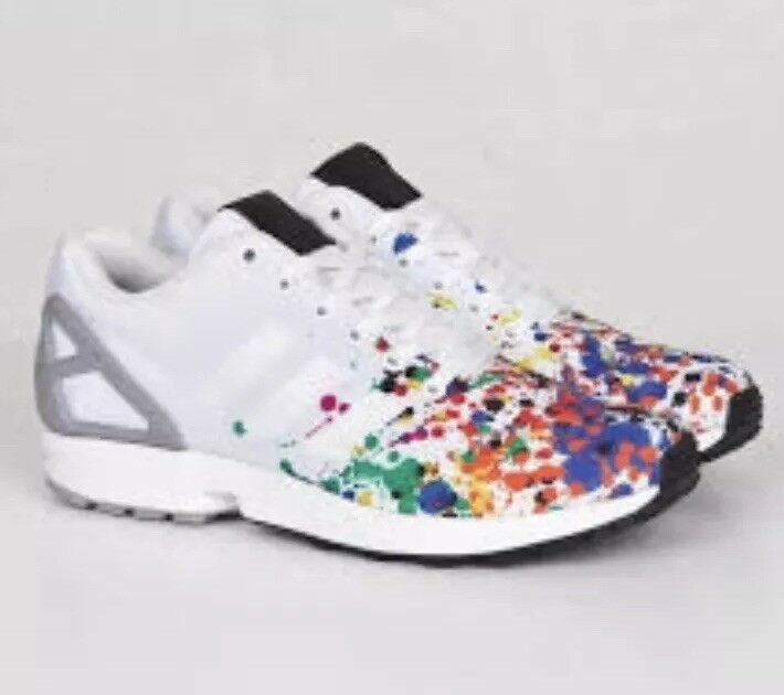 Rare Adidas Originals ZX Multi FLUX Mens Size 10. Multi ZX Color. ArtB34497. New W/Box 1959c0