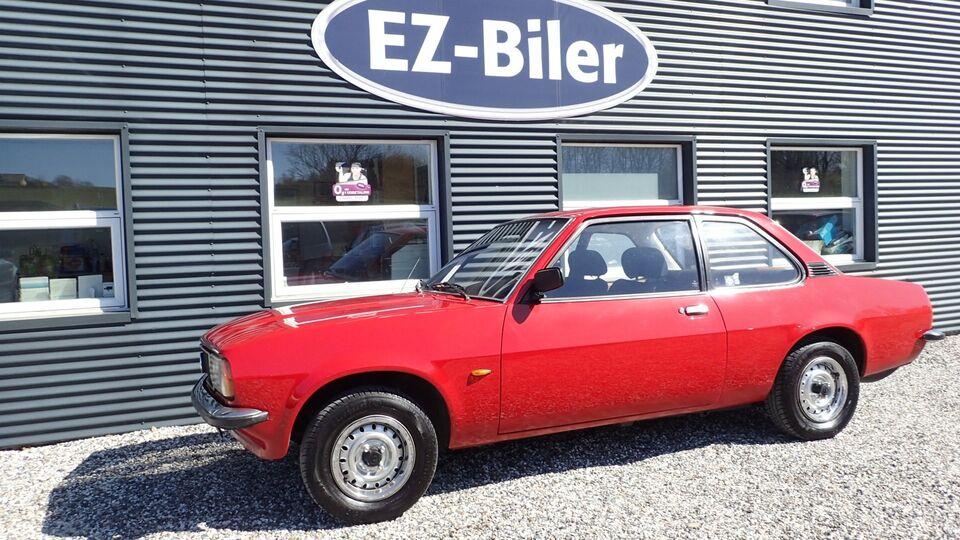 Opel Ascona 1,2 S Benzin modelår 1977 km 68000 Rød